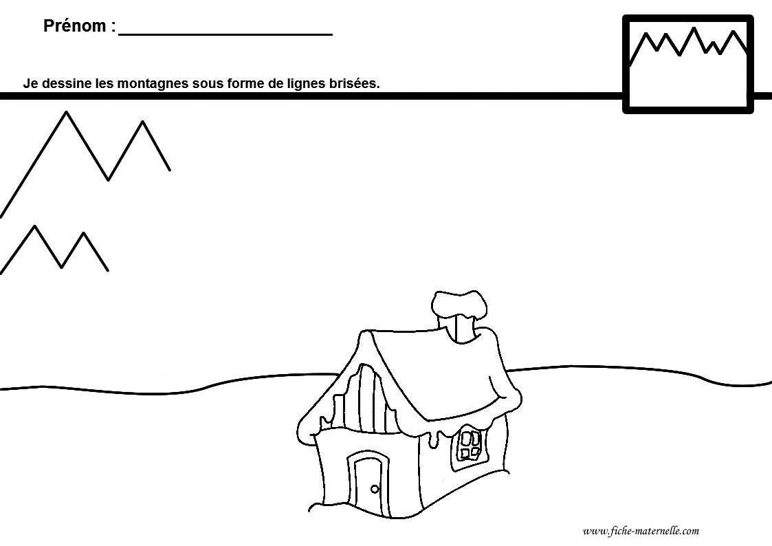 Graphisme En Maternelle Dessiner Des Lignes Brisees