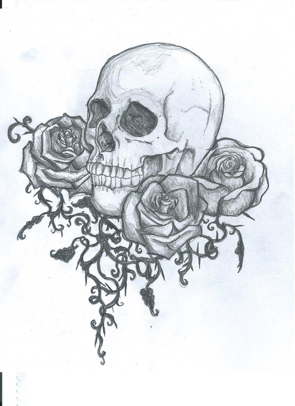 Skull tattoo design by on deviantART