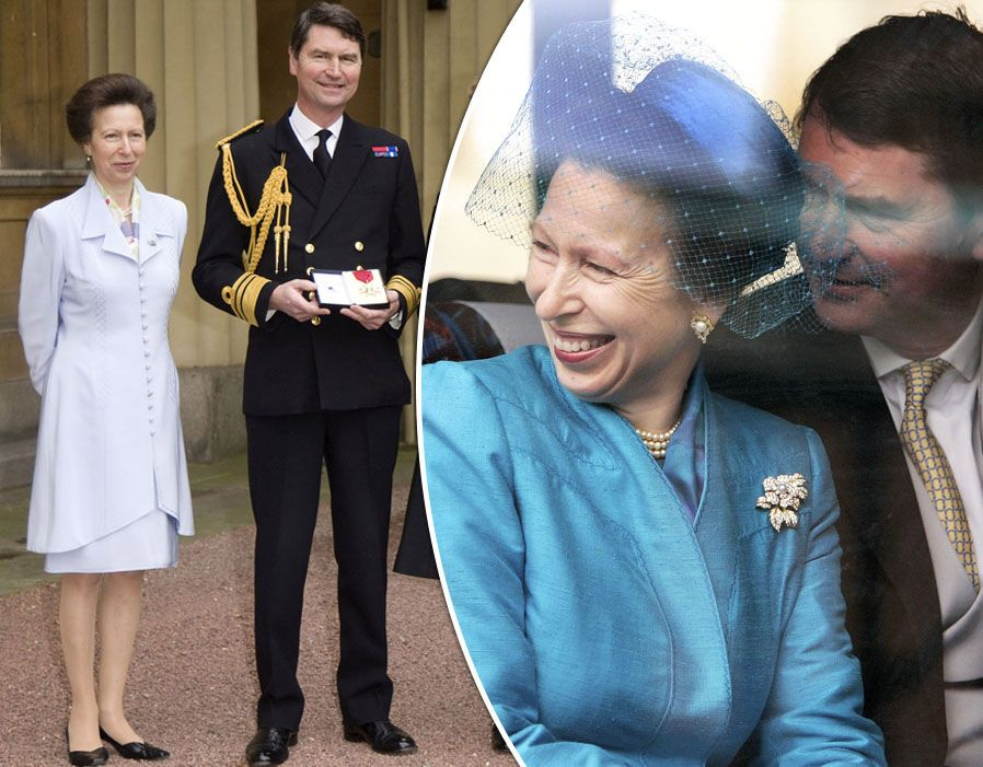 Princess Anne and Timothy Laurence in pictures Timothy
