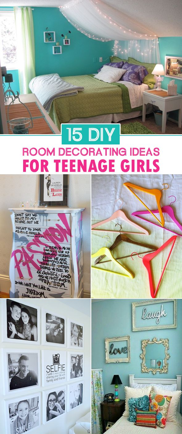 15 DIY Room Decorating Ideas For Teenage Girls Princess