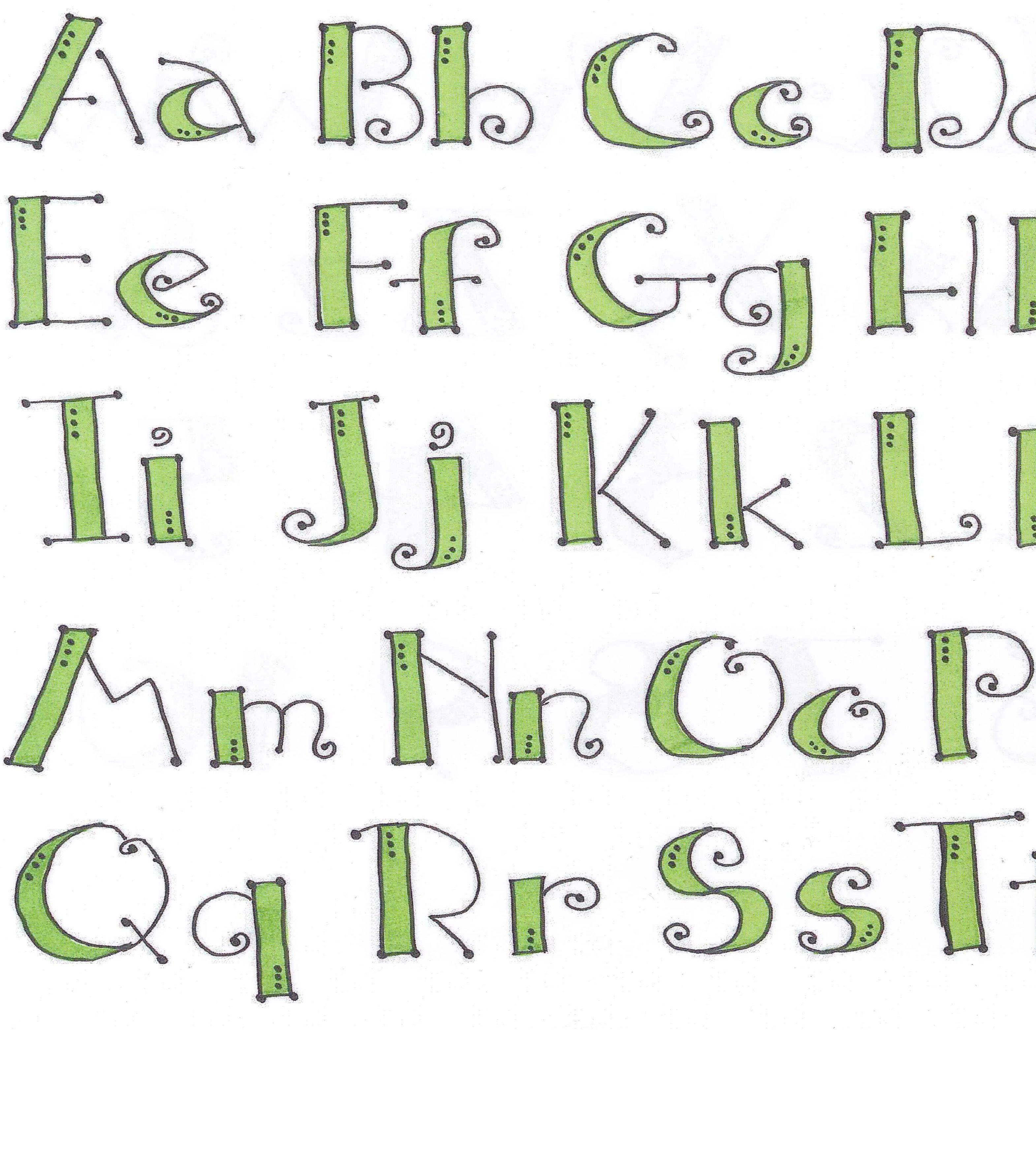 lettering ZIG Memory System Lettering Ideas DIY
