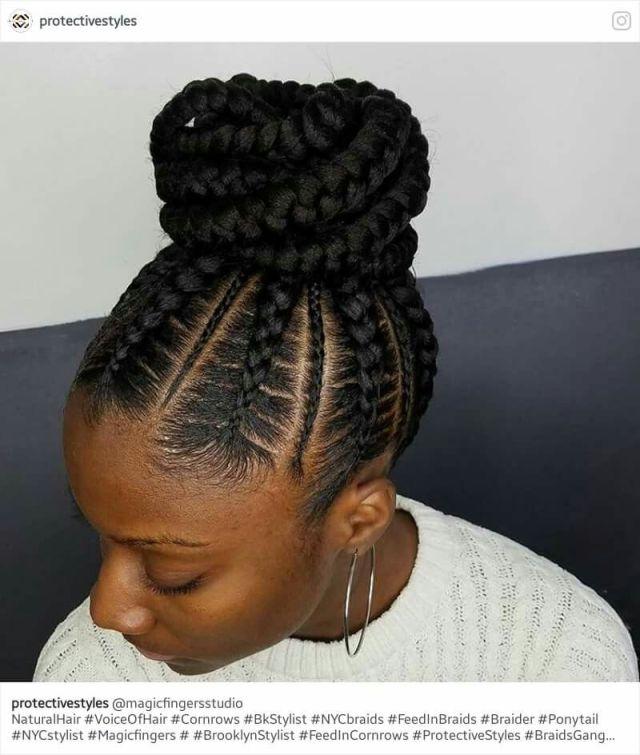 Stunningly Cute Ghana Braids  Styles  For 2019 Hair style