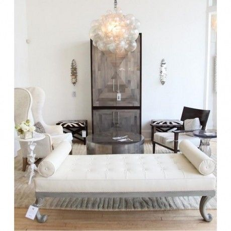 Includes Canopy Chain Material Cast Resin W Bubbles Hardware Finish Options Silver Shown