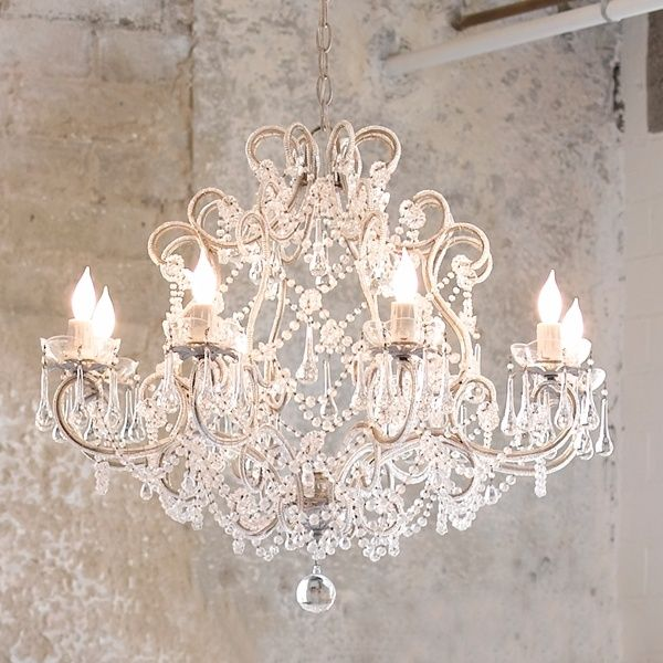 Lily Juliana Chandelier By Rachel Ashwell Replace Your Boring Lighting With A Crystal For Shabby Chic Look