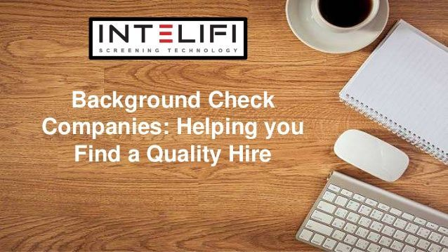 In the past few years  a lot of questions were needed to be asked in     In the past few years  a lot of questions were needed to be asked in an  applicant in order to know them well  But with the help of background check