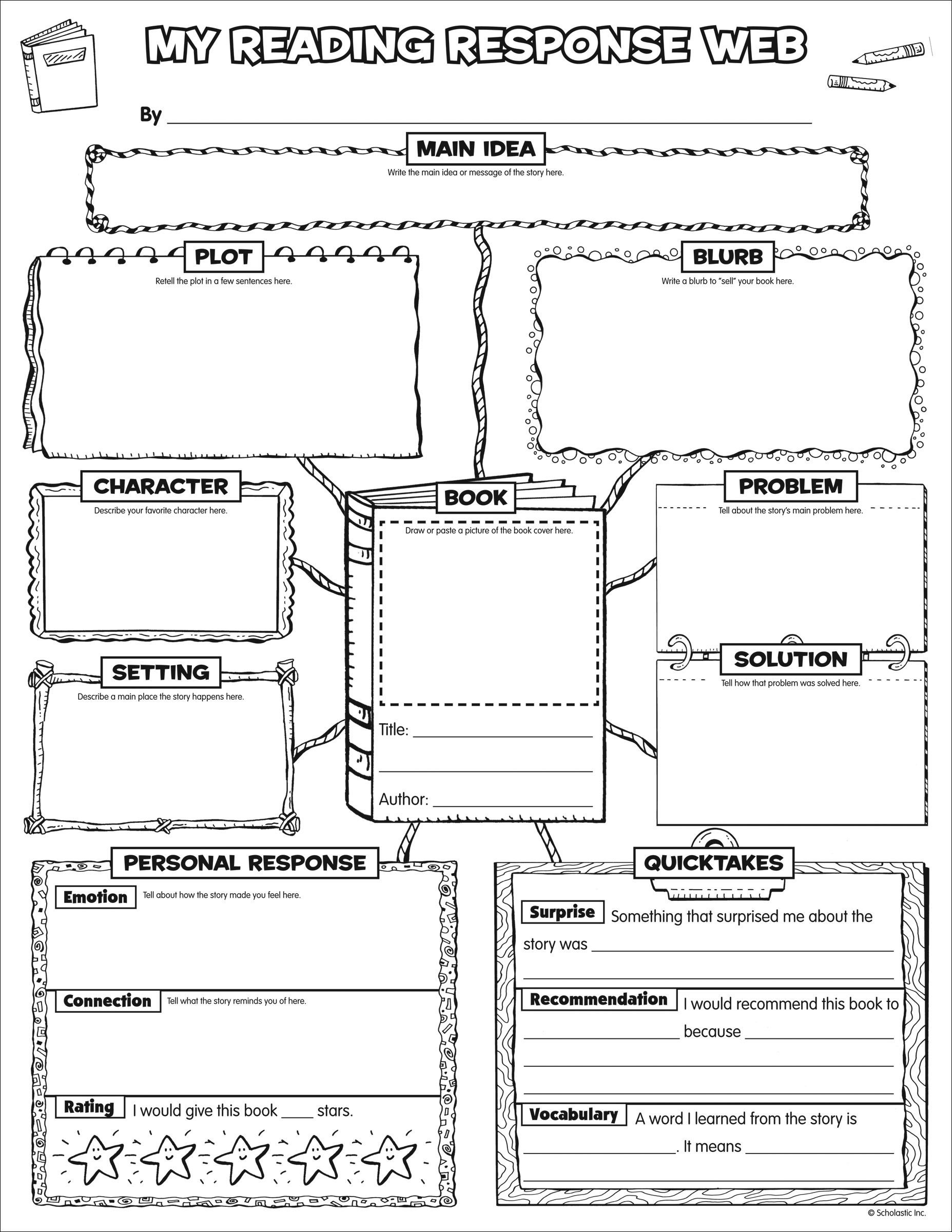 Scholastic Teacher Express Graphic Organizer Posters