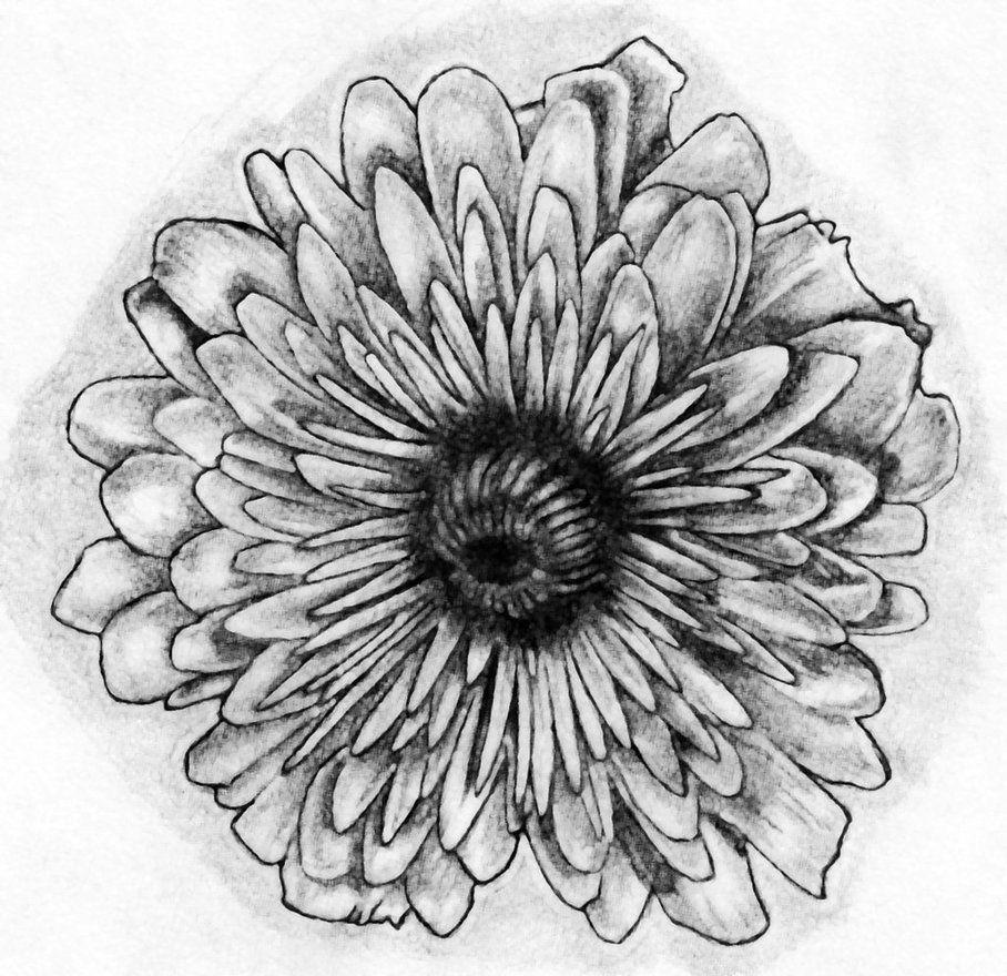 November Flower Tattoo Art By Bobby Castaldi Art On