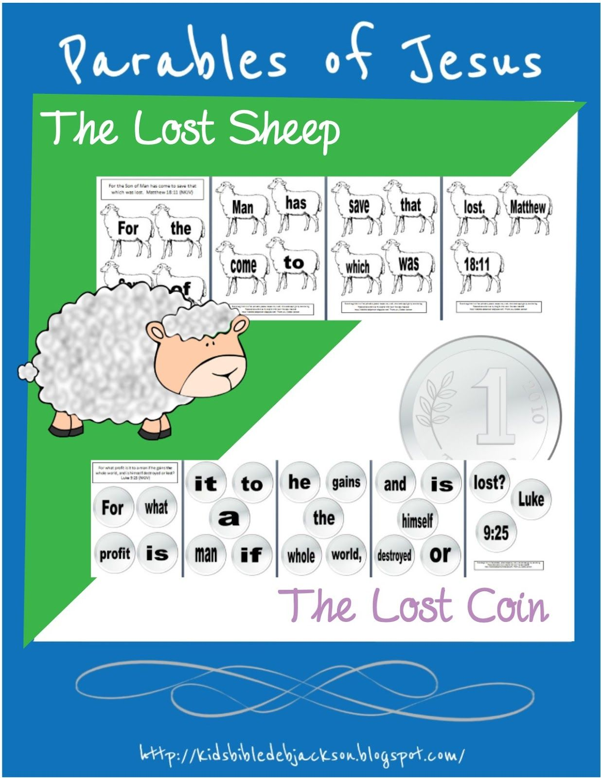 Bible Fun For Kids Parable Of The Lost Sheep Amp Lost Coin