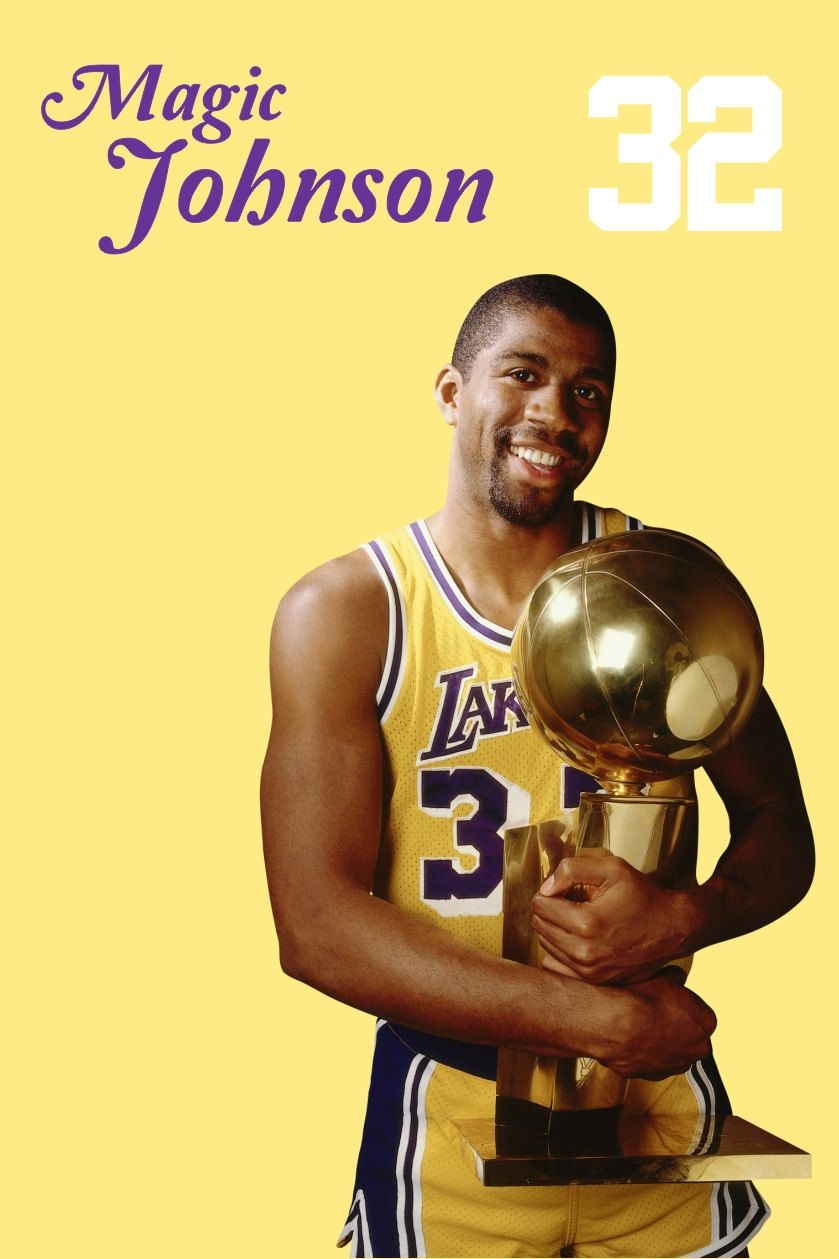 Magic is a Laker Legend. Show your Laker love, http