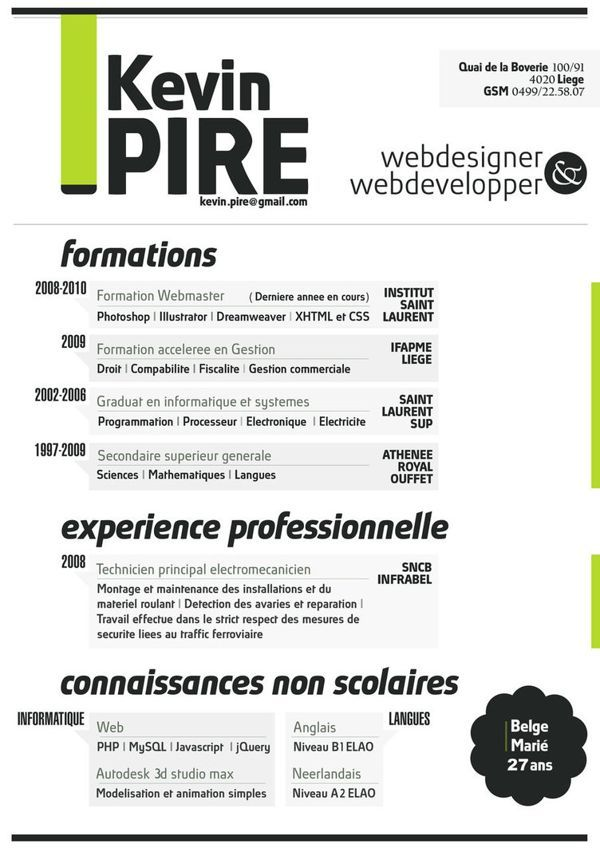 visual resume template is a a4 us letter indesign template for