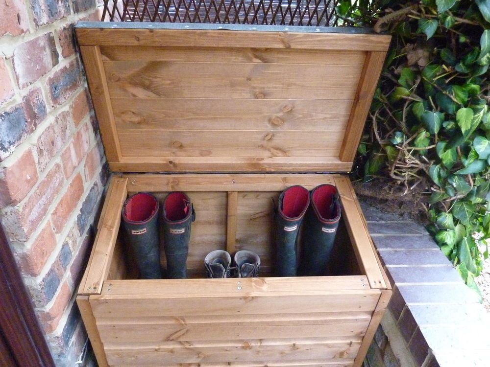 Details About 16mm Tanalised Timber Wood Boot Box Chest
