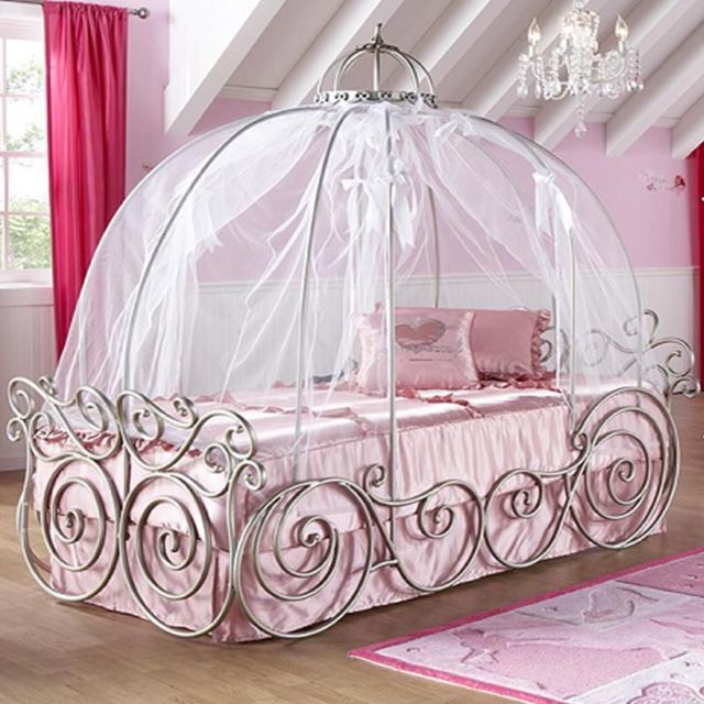 Disney Princess Twin Canopy Bed by Canyon