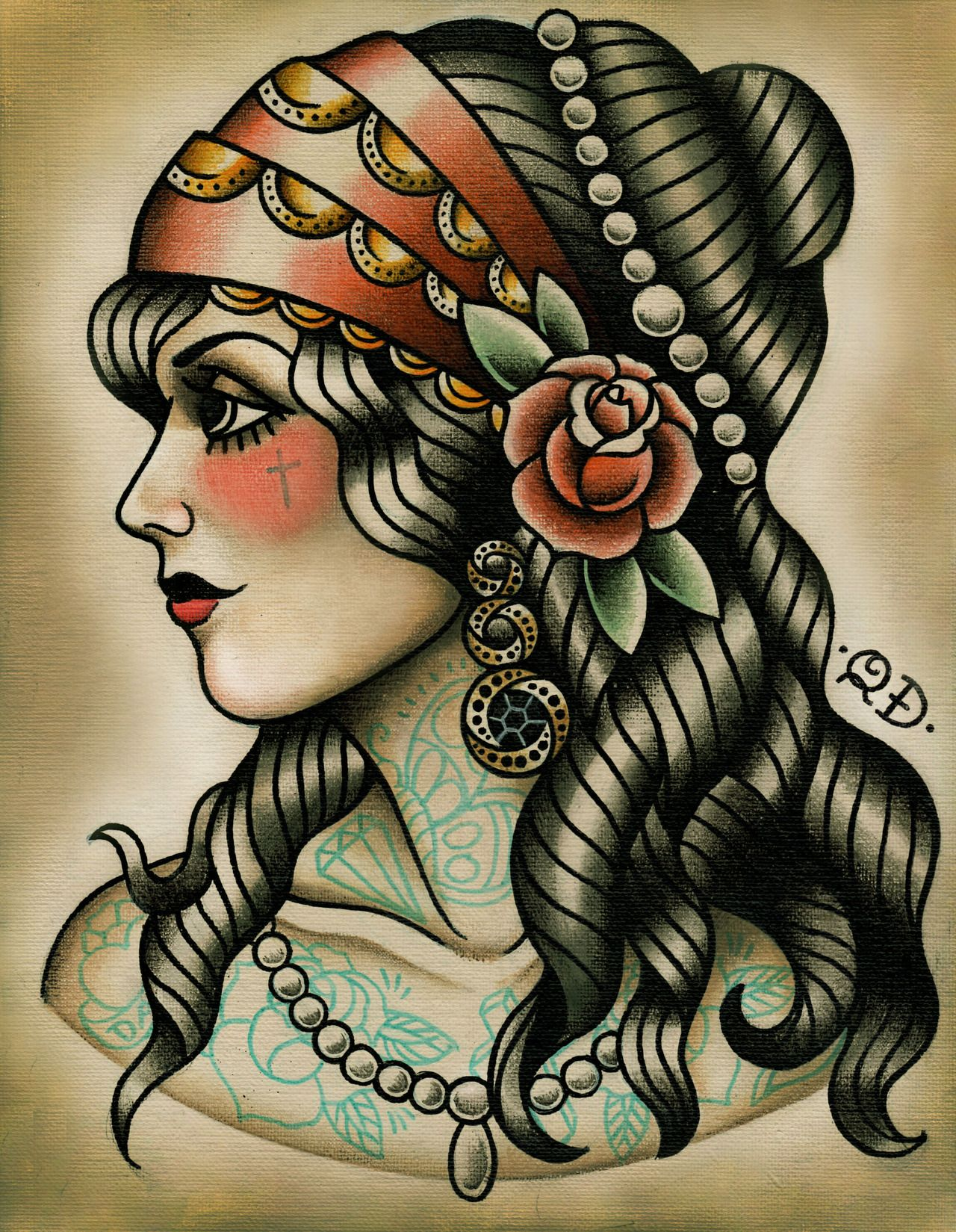 Best Traditional Tattoos Designs Traditional gypsy