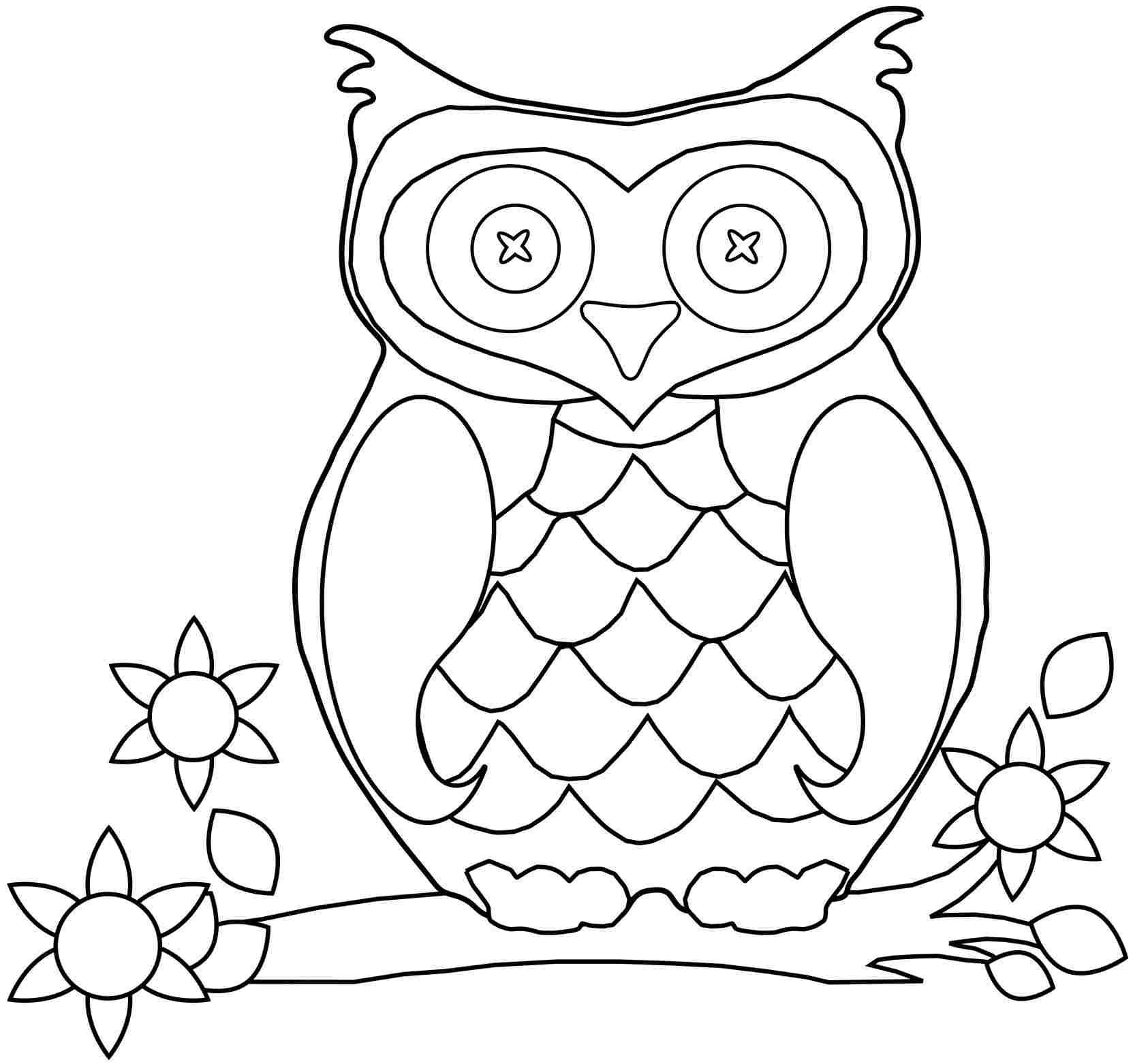 Free Preschool Fall Coloring Pages Printable Free