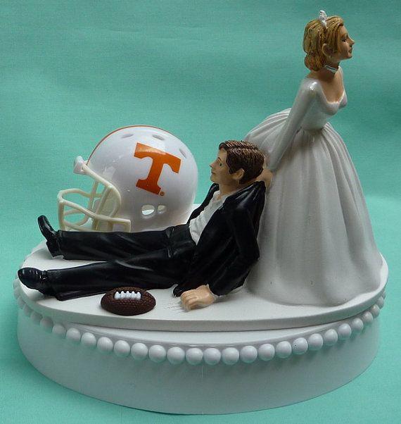Wedding Cake Topper University Of Tennessee Volunteers UT