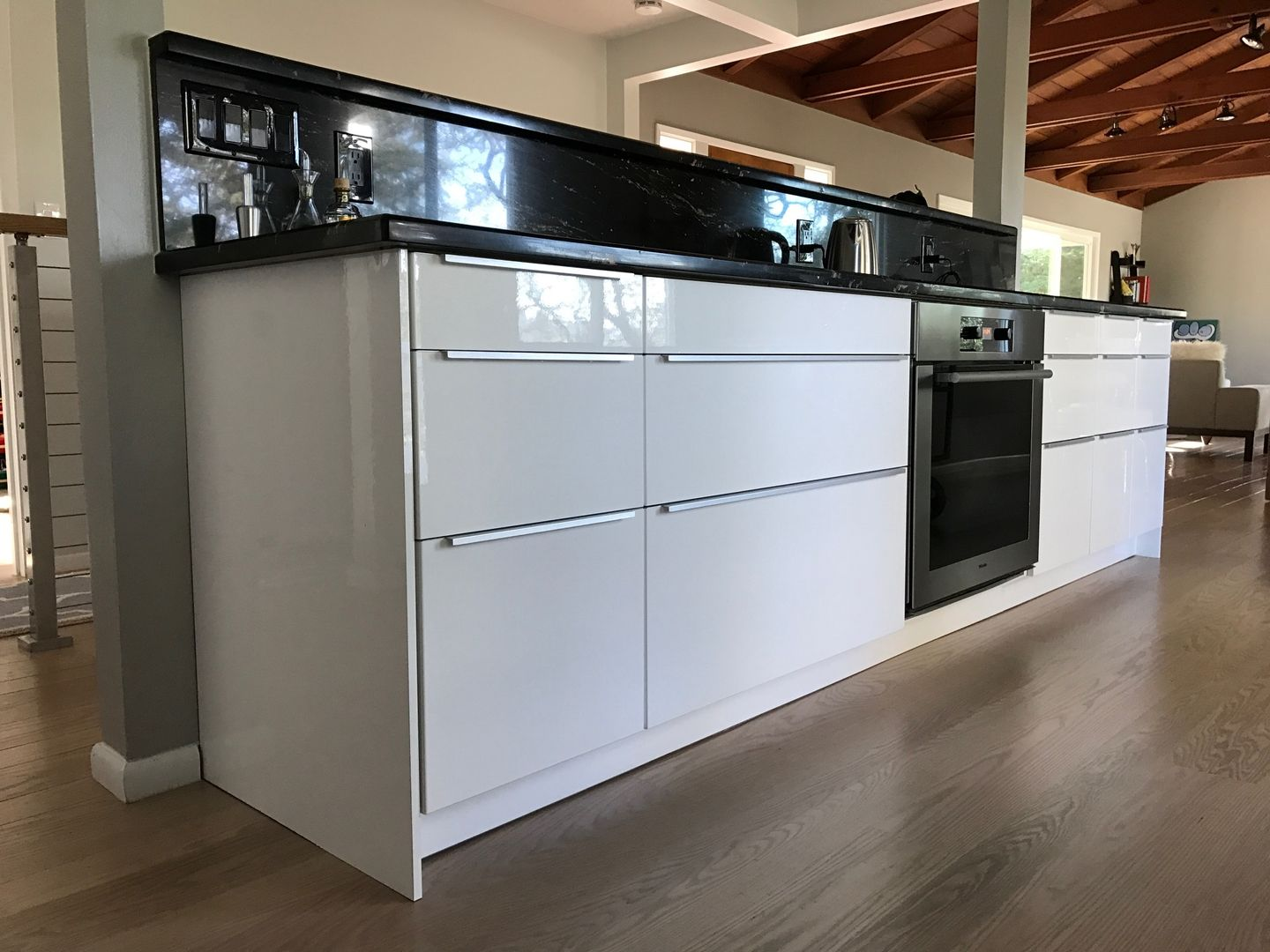 Finished and completed IKEA kitchen Sektion