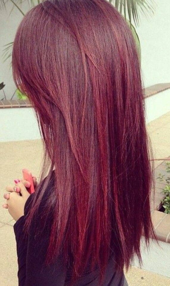 Red Hair 2014 On Pinterest Cherry Red Hair Voluminous