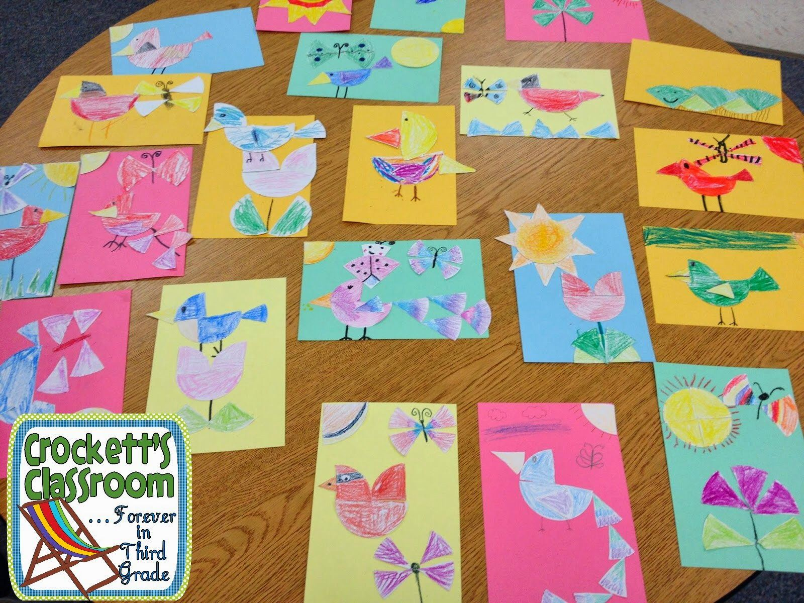 Fraction Art Activity Fun Way For Kids To Experience