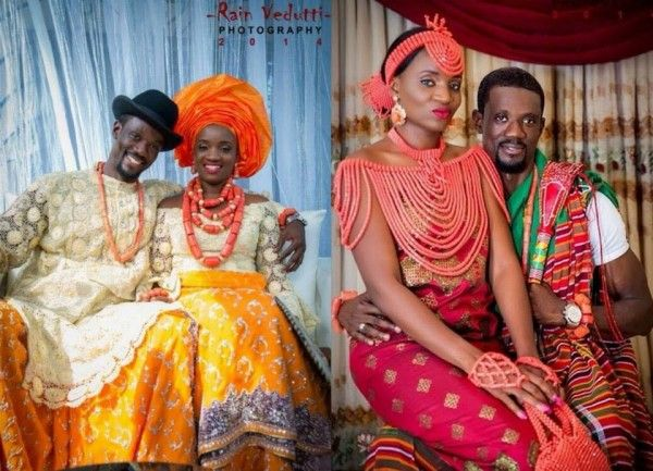 Niger Delta/ Urhobo Traditional Wedding, The Couple