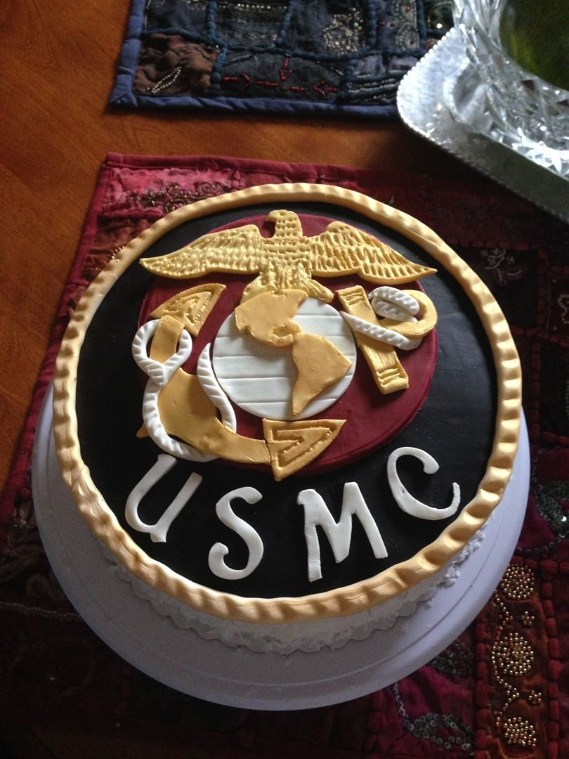USMC Cake Willo Sweet Cakes Pinterest USMC, Cake and