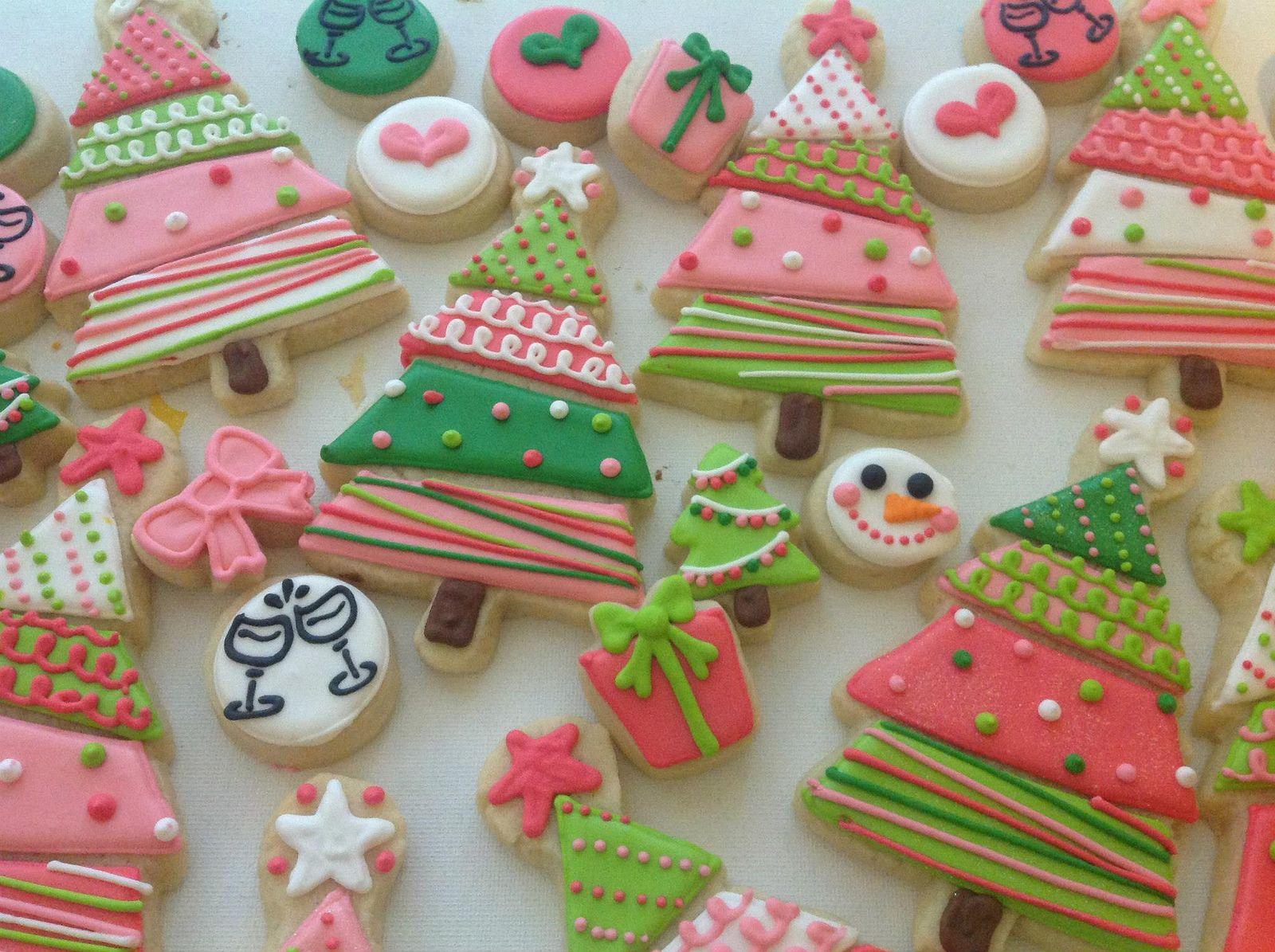 w409 Christmas cookies, Sugar cookies and Cookie decorating