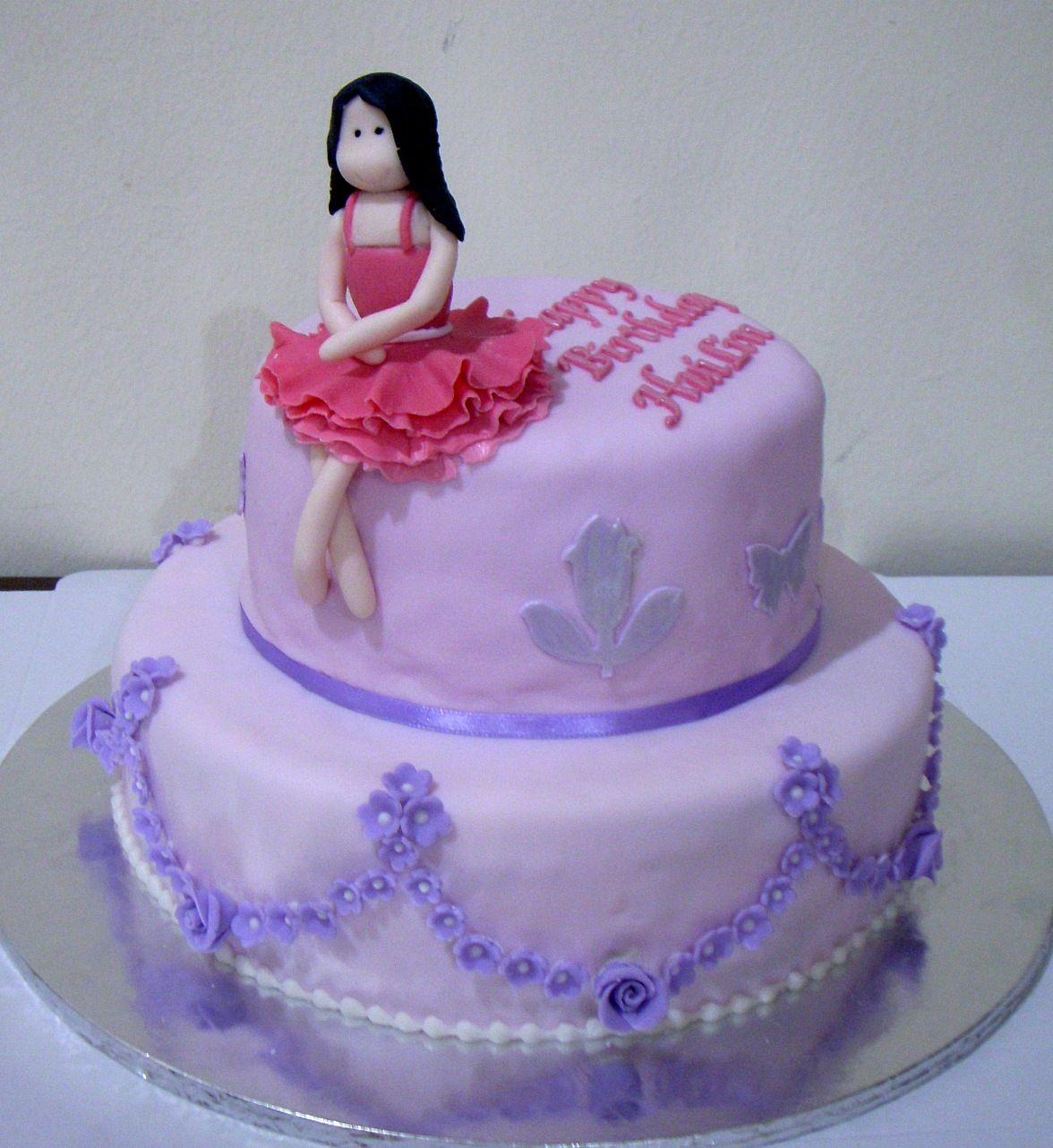 Purple+Birthday+Cakes Bearylicious Cakes Purple