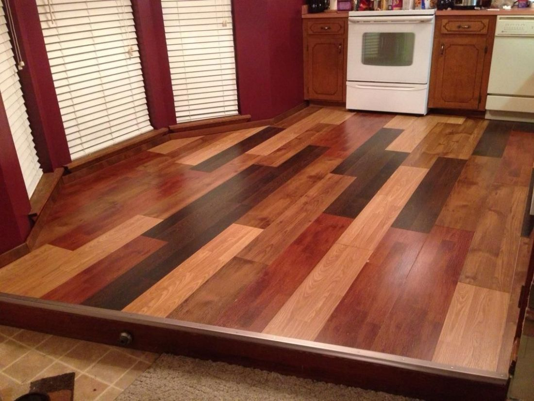 how to match wood floor color