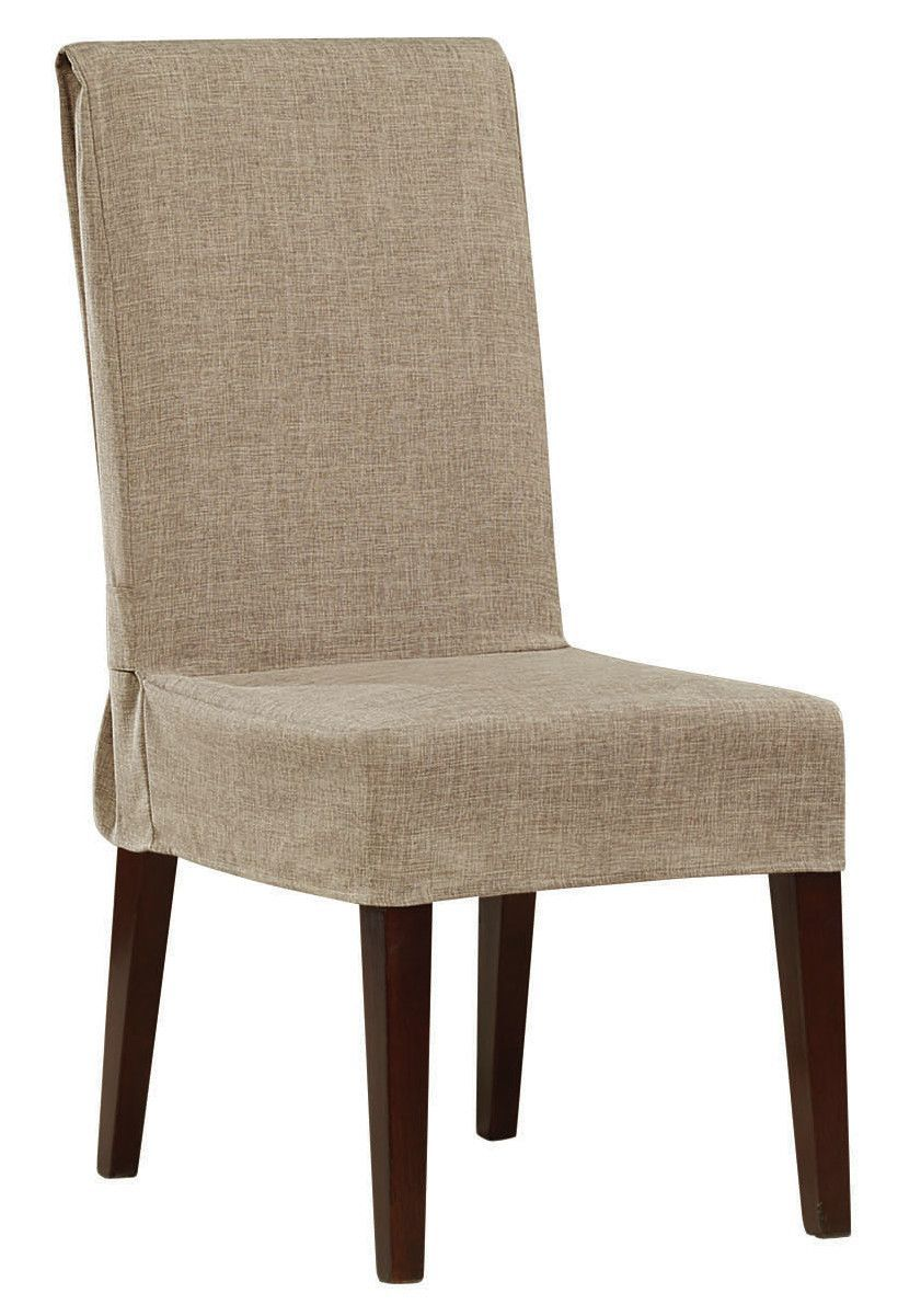 Shorty Dining Chair Slipcover Dining chair slipcovers