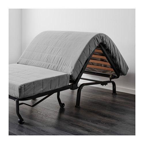 Lycksele H 197 Vet Chair Bed Ebbarp Black White Office Guest