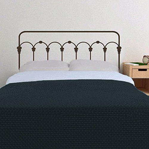 tete de lit viynl mur tete de lit en fer forge en tete de lit ou