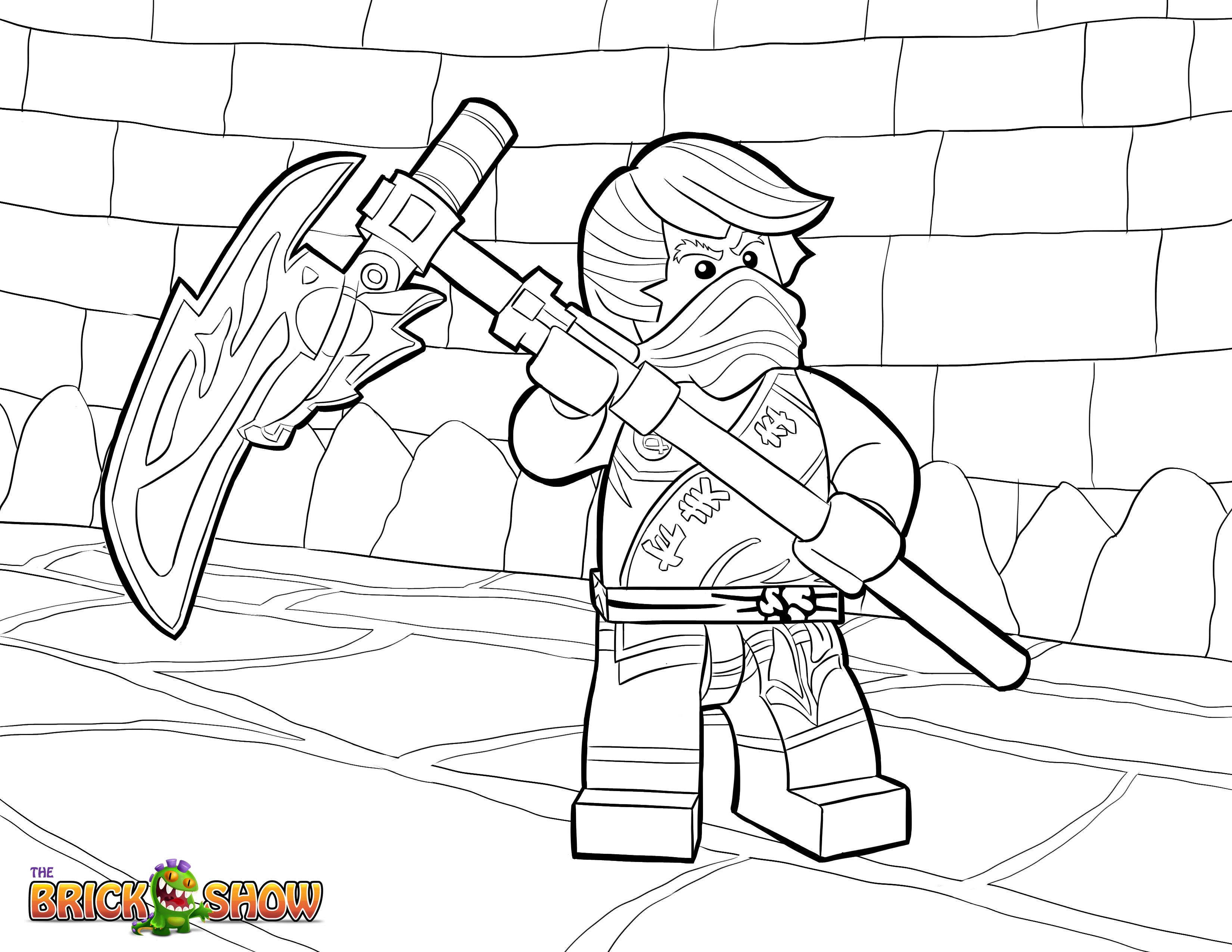 1000 images about coloring pages on pinterest lego ninjago