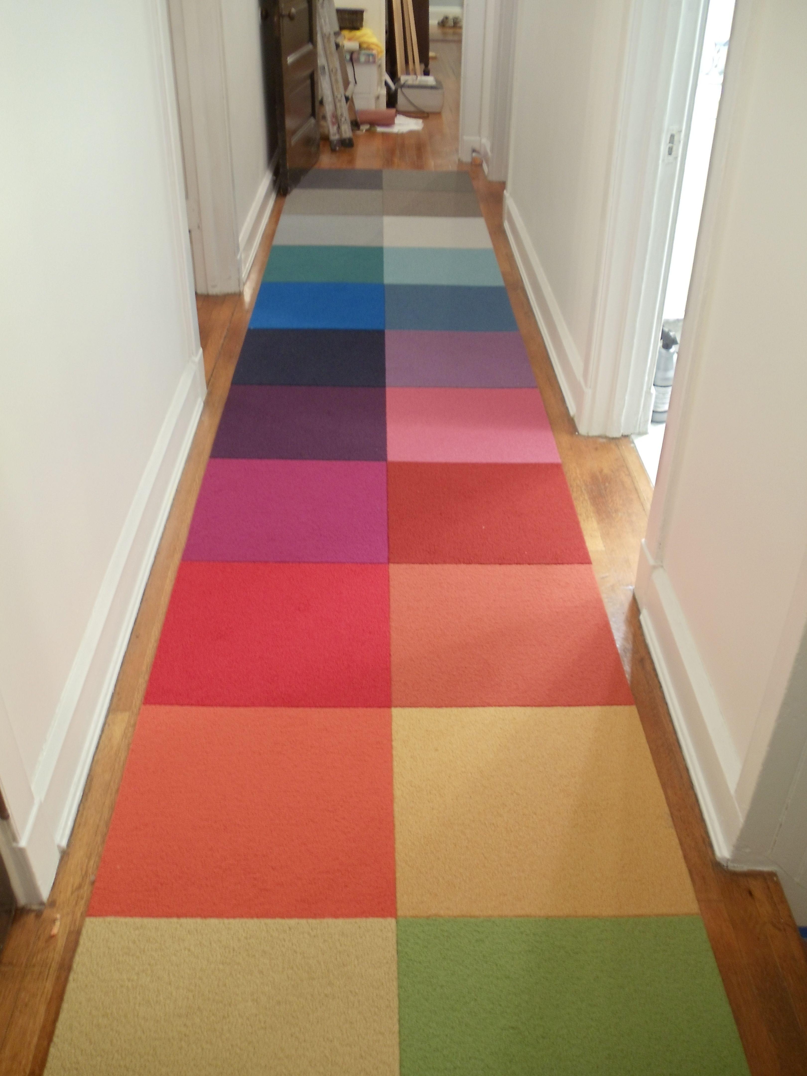 Flor carpet tile runner Project Procrastination