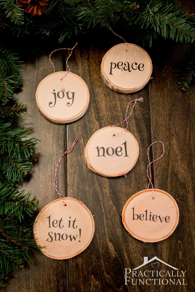 7 Fun Wood Slice Crafts Craft Stores Ornament And Woods