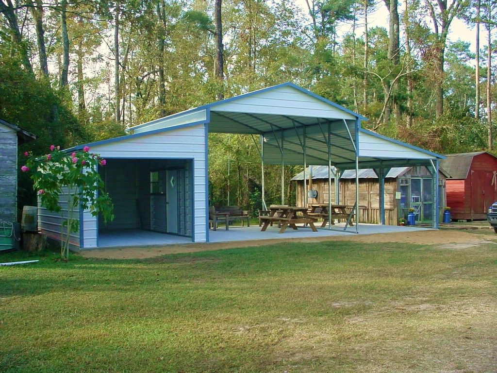 Awesome Carport RV Storage Pinterest Storage sheds
