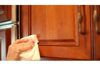How To Remove Years Of Greasy Build Up From Kitchen Cabinets