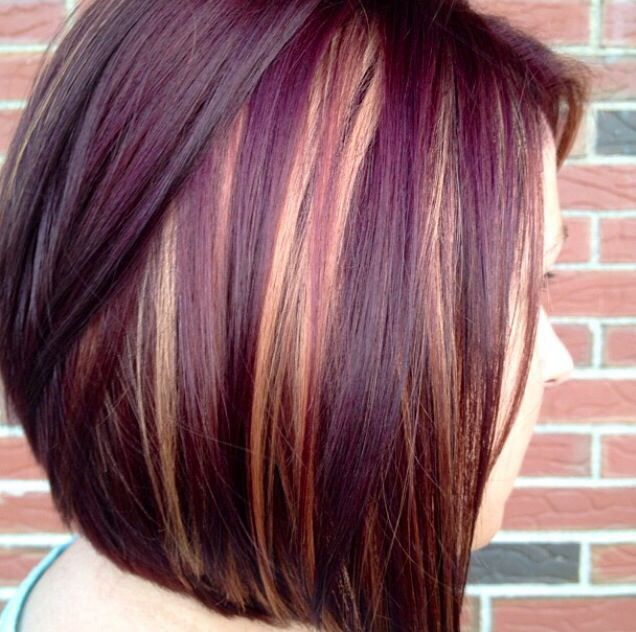 Red and purple highlights for black hair the best black hair 2017 best 25 purple highlights ideas on blonde hair with pmusecretfo Choice Image