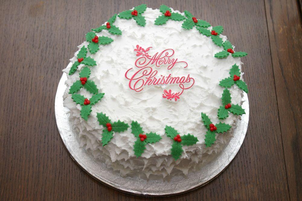 Royal Christmas Cake Decorating Ideas