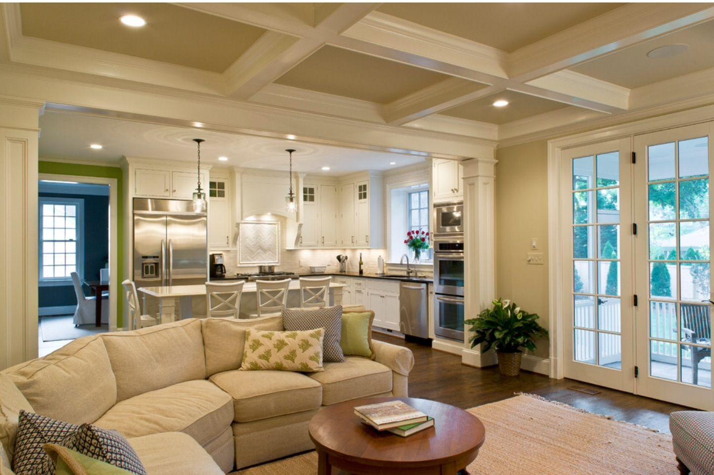 Kitchenandliving Room Designs Stunning Home Design