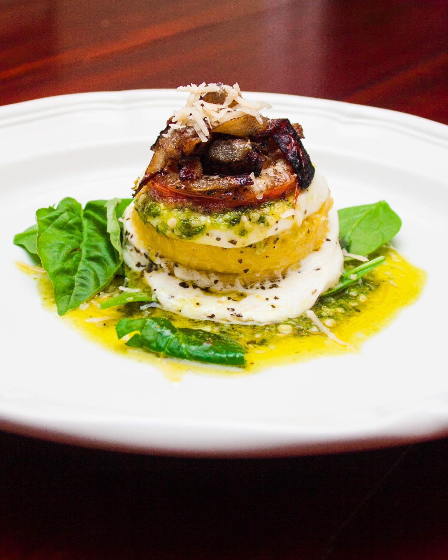 Beautiful Elegant Vegetarian Entree Recipe, perfect for