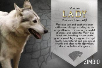 Lady game of thrones