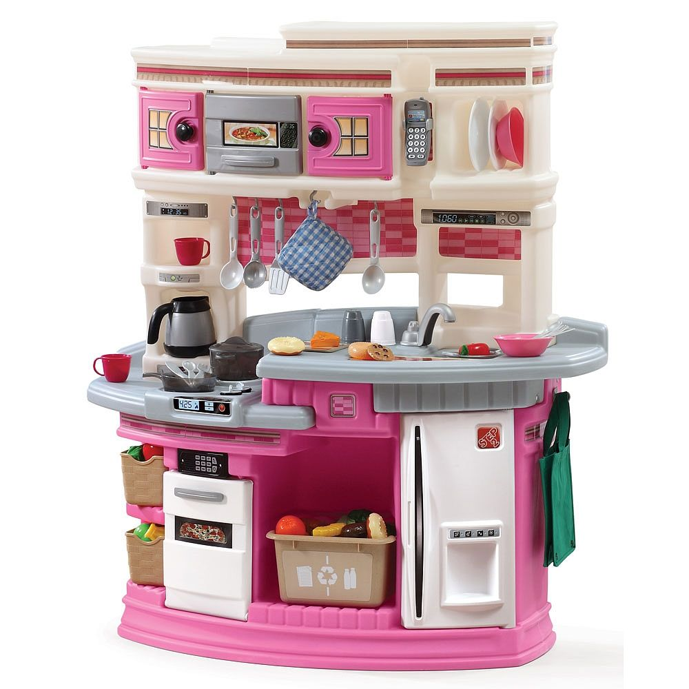 Step2 Lifestyle Legacy Kitchen Set Pink Step 2