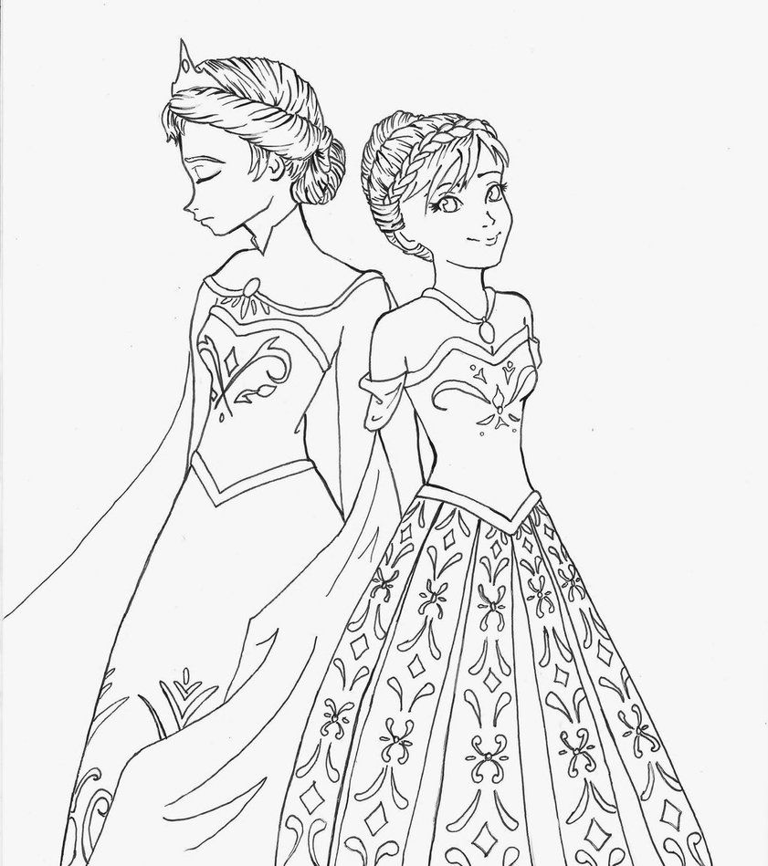 Frozen Coloring Pages Google Søgning Frozen Colouring Pages