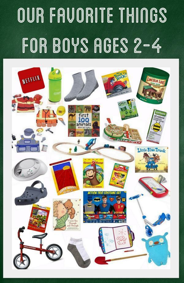Our Favorite Things for Boys Ages 24, Little Boy Gift