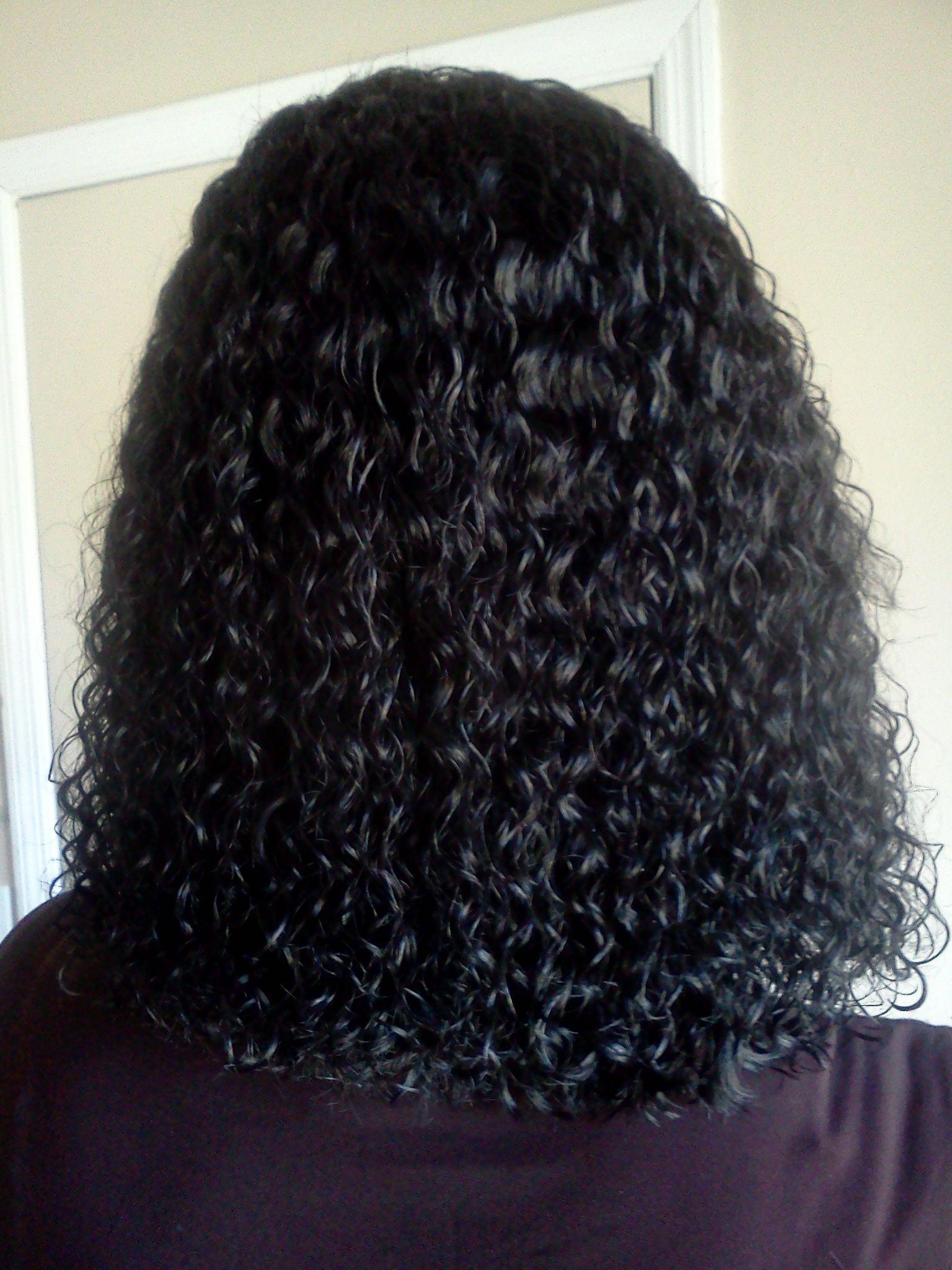 Wet N WavySew In Hair Pinterest Hair Style Curly