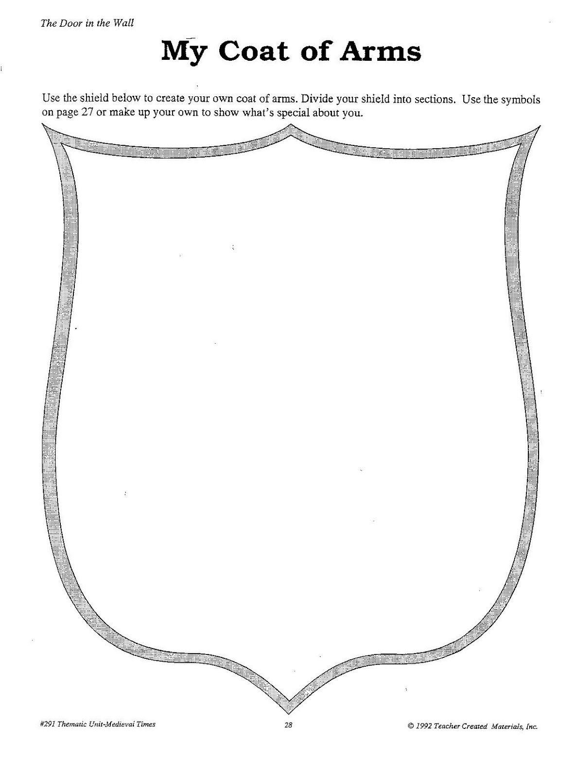 Personal Crest Outline Stantonsocialstu S