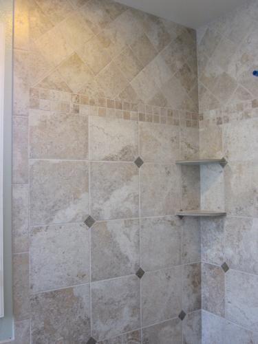 Shower Detail Montagna Lugano Tile Home Pinterest
