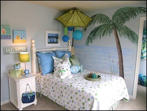 Image Result For Contemporary Kids By Anita Roll Murals Cool Beach Themed Room