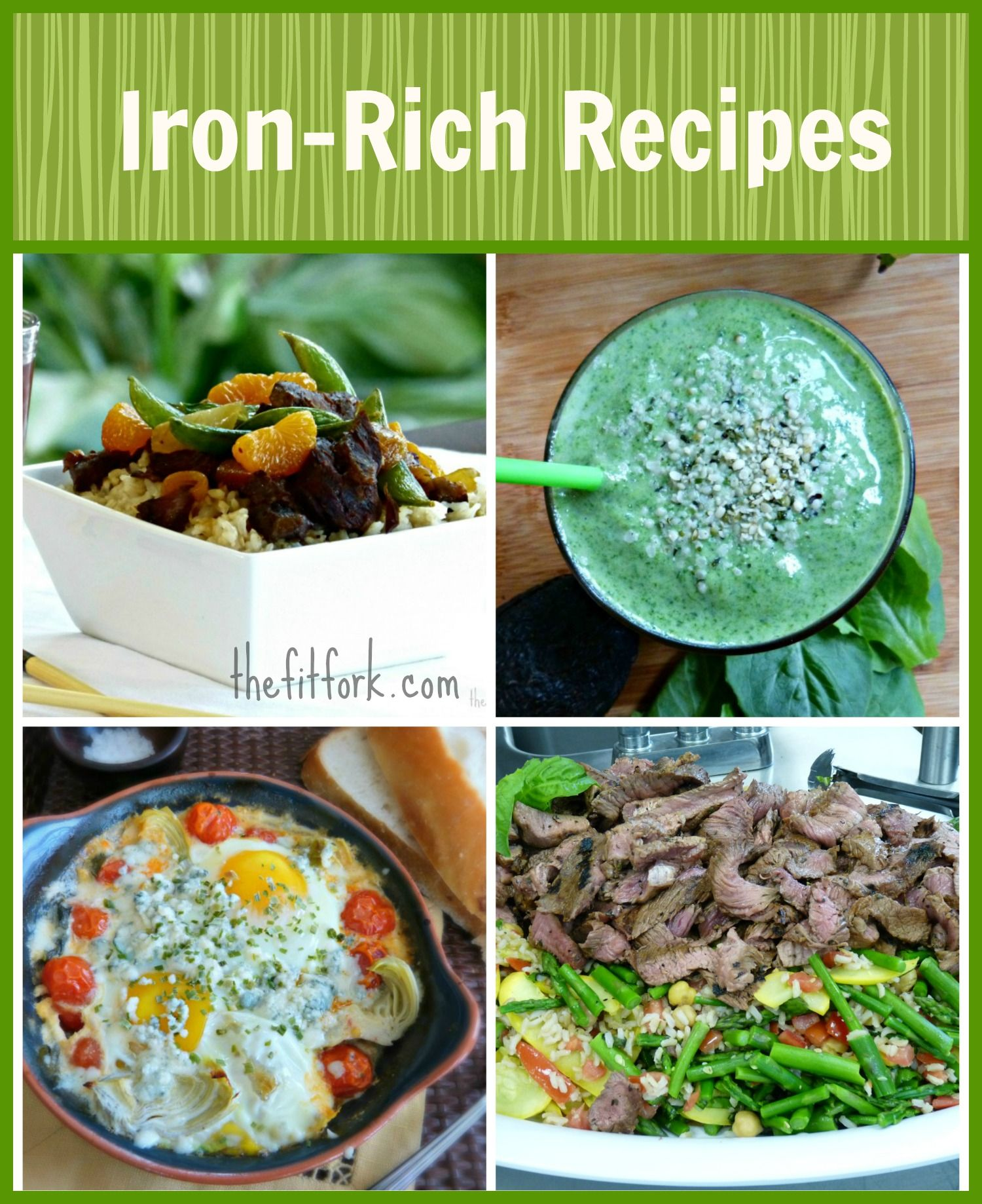 Anemia in Runners & Healthy Iron Rich Recipes Iron rich