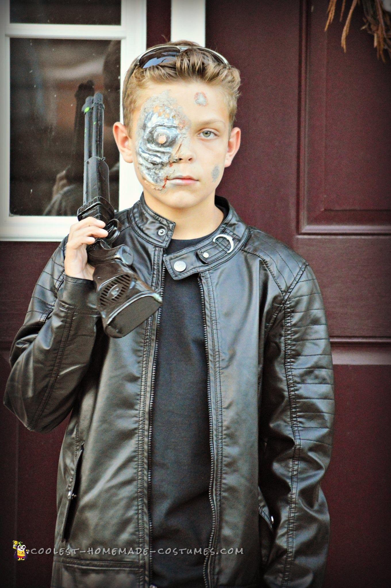 Terminator Costume for Tween Boy Terminator costume