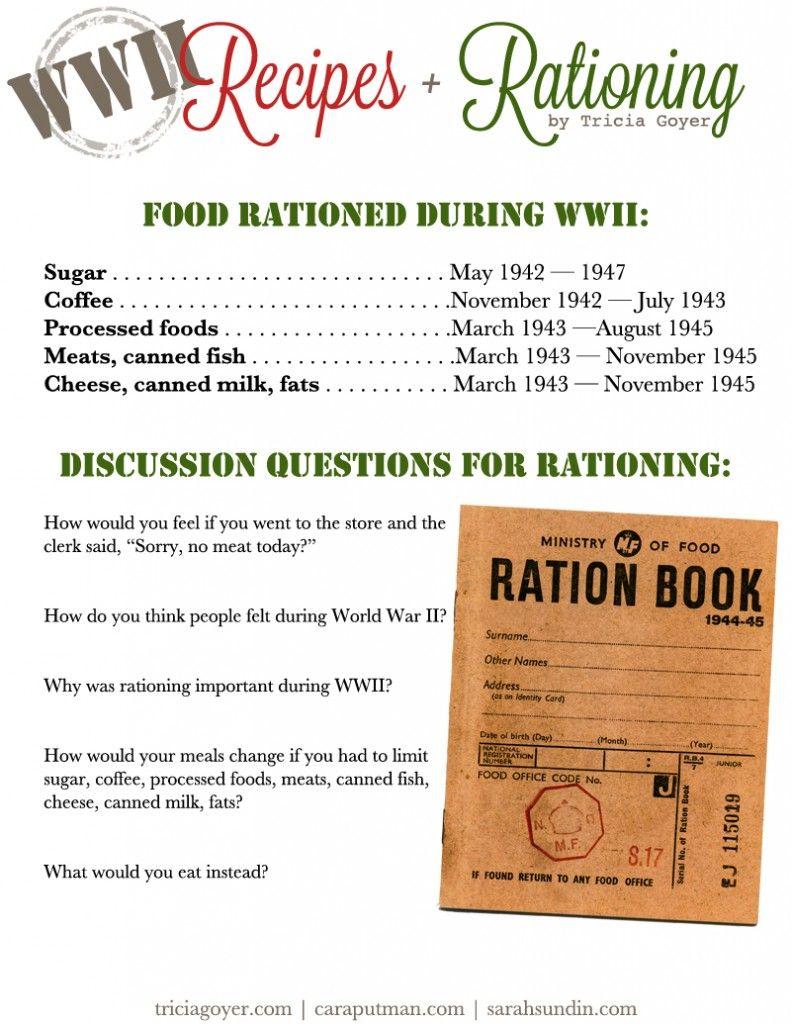 Food R Ti G Nd Recipes W Ld W R Ii Ci L Studies